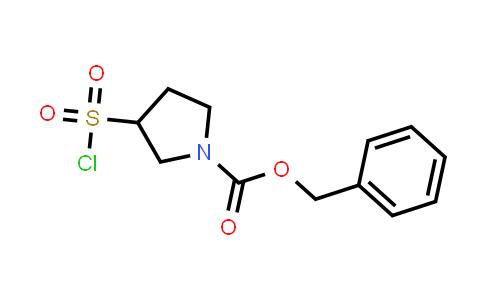1035173-74-0 | Benzyl 3-(chlorosulfonyl)pyrrolidine-1-carboxylate