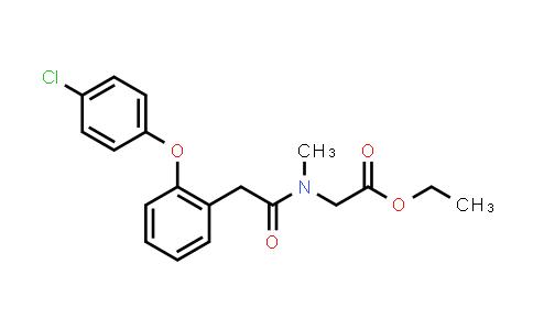 1035404-17-1 | Ethyl 2-(2-(2-(4-chlorophenoxy)phenyl)-N-methylacetamido)acetate