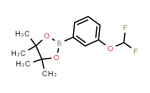 1035690-56-2 | 2-[3-(Difluoromethoxy)phenyl]-4,4,5,5-tetramethyl-1,3,2-dioxaborolane