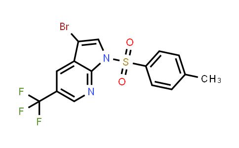 1036027-58-3 | 1H-Pyrrolo[2,3-b]pyridine, 3-bromo-1-[(4-methylphenyl)sulfonyl]-5-(trifluoromethyl)-