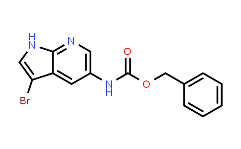 1036028-07-5 | Carbamic acid, N-(3-bromo-1H-pyrrolo[2,3-b]pyridin-5-yl)-, phenylmethyl ester