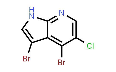 1036243-97-6 | 1H-Pyrrolo[2,3-b]pyridine, 3,4-dibromo-5-chloro-