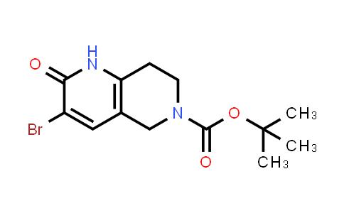 1036381-92-6 | tert-Butyl 3-bromo-2-oxo-1,5,7,8-tetrahydro-1,6-naphthyridine-6(2H)-carboxylate