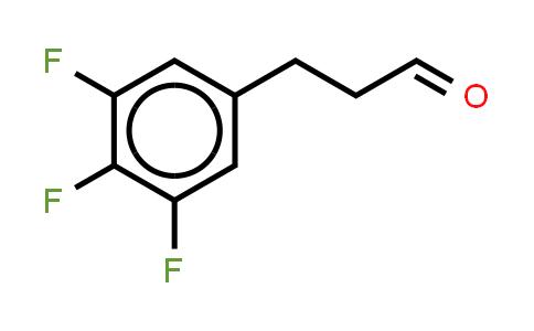 1036396-34-5 | Benzenepropanal, 3,4,5-trifluoro- (or 3-(3,4,5-Trifluorophenyl)propionaldehyde )