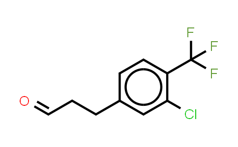 1036396-40-3   Benzenepropanal, 3-chloro-4-(trifluoromethyl)- (or 3-(3-Chloro-4-trifluoromethylphenyl)propionaldehyde )