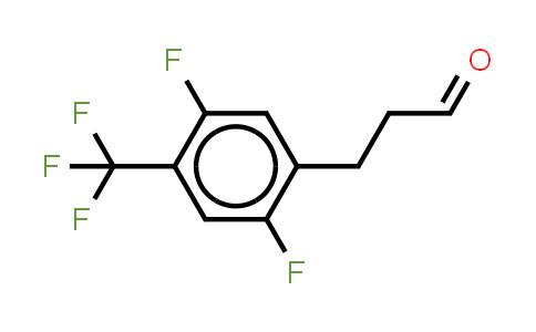1036396-41-4 | Benzenepropanal, 2,5-difluoro-4-(trifluoromethyl)- (or 3-(2,5-Difluoro-4-trifluoromethylphenyl)propionaldehyde )