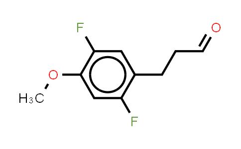 1036396-47-0 | Benzenepropanal, 2,5-difluoro-4-methoxy- (or 3-(2,5-Difluoro-4-methoxyphenyl)propionaldehyde )