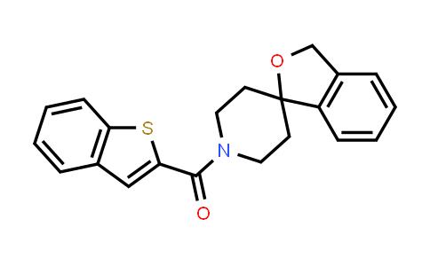 1036405-81-8 | 1'-(1-Benzothien-2-ylcarbonyl)-3h-spiro[2-benzofuran-1,4'-piperidine]