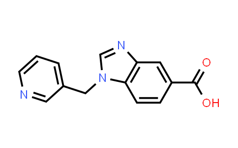 1036591-09-9 | 1-(Pyridin-3-ylmethyl)-1H-benzimidazole-5-carboxylic acid