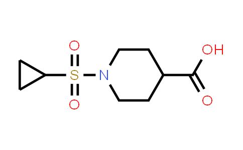 1036738-97-2   1-(Cyclopropylsulfonyl)piperidine-4-carboxylic acid