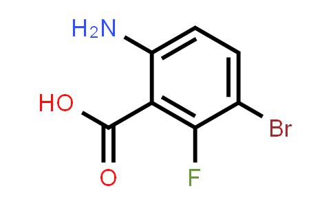 1036756-03-2 | 6-Amino-3-bromo-2-fluorobenzoic acid