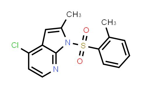 1036963-34-4 | 1H-Pyrrolo[2,3-b]pyridine, 4-chloro-2-methyl-1-[(2-methylphenyl)sulfonyl]-