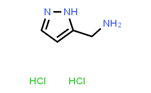 1037237-32-3 | 1H-Pyrazol-5-ylmethanamine dihydrochloride