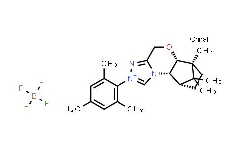 1037287-79-8 | (5aR,6S,9S,9aS)-2-Mesityl-6,11,11-trimethyl-5a,6,7,8,9,9a-hexahydro-4H-6,9-methanobenzo[b][1,2,4]triazolo[4,3-d][1,4]oxazin-2-ium Tetrafluoroborate