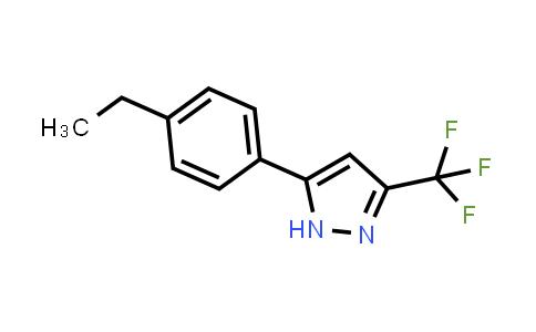 1037420-88-4   5-(4-Ethylphenyl)-3-(trifluoromethyl)-1H-pyrazole