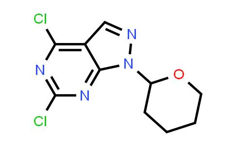 1037479-62-1 | 4,6-Dichloro-1-(tetrahydro-2H-pyran-2-yl)-1H-pyrazolo[3,4-d]pyrimidine