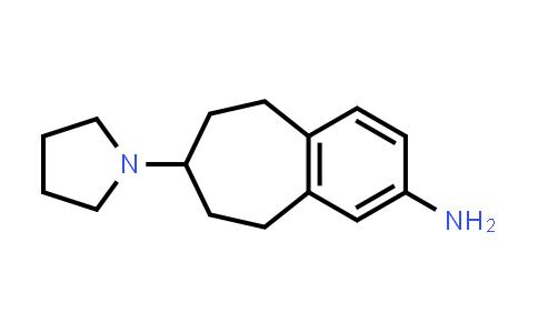 1037627-94-3 | 6,7,8,9-Tetrahydro-7-(1-pyrrolidinyl)-5H-benzocyclohepten-2-amine