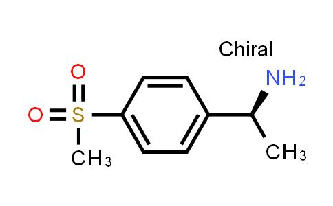 1037798-64-3 | (S)-1-(4-(Methylsulfonyl)phenyl)ethanamine