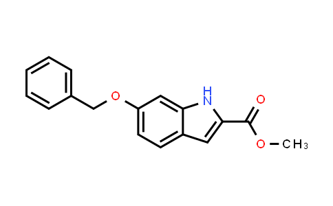 103781-89-1   Methyl 6-(benzyloxy)-1H-indole-2-carboxylate