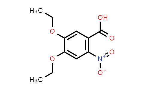 103796-34-5 | Benzoic acid, 4,5-diethoxy-2-nitro-