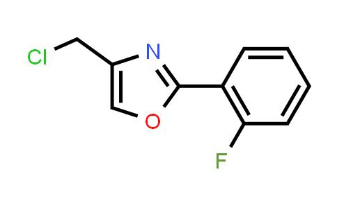 1038362-92-3   4-(Chloromethyl)-2-(2-fluorophenyl)oxazole