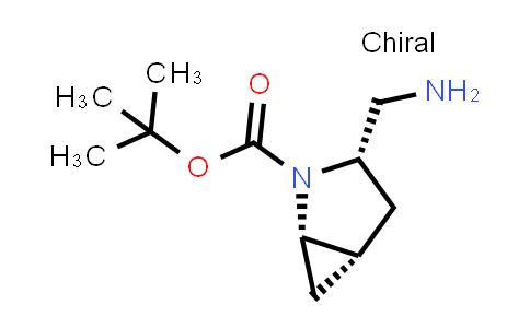 1038509-56-6 | (1S,3S,5S)-2-Boc-2-azabicyclo[3.1.0]hexane-3-methylamine