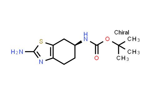 1038555-08-6   tert-Butyl (S)-(2-amino-4,5,6,7-tetrahydrobenzo[d]thiazol-6-yl)carbamate