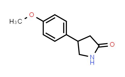103859-86-5 | 4-(4-Methoxyphenyl)pyrrolidin-2-one