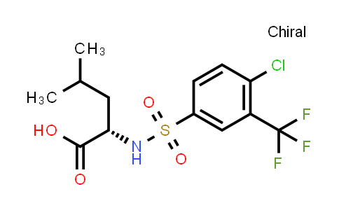 1038619-52-1 | N-[[4-Chloro-3-(trifluoromethyl)phenyl]sulfonyl]-L-leucine