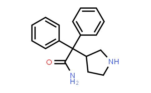 103887-32-7 | 2,2-Diphenyl-2-(pyrrolidin-3-yl)acetamide