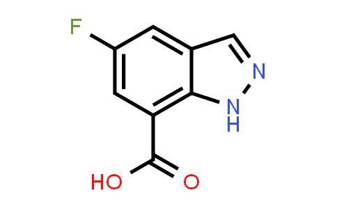 1038916-13-0   5-Fluoro-1H-indazole-7-carboxylic acid