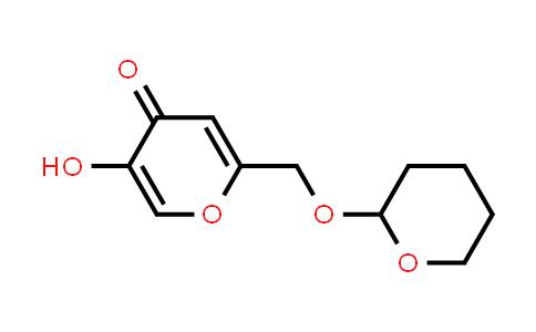 103893-45-4   5-Hydroxy-2-(((tetrahydro-2H-pyran-2-yl)oxy)methyl)-4H-pyran-4-one