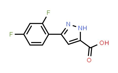 1039053-05-8 | 3-(2,4-Difluorophenyl)-1H-pyrazole-5-carboxylic acid