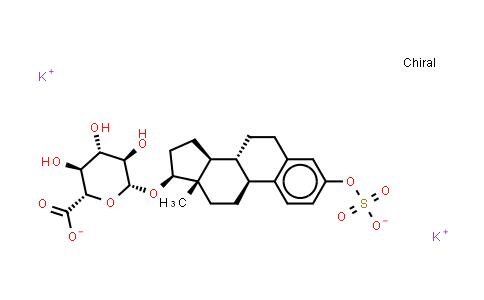 10392-35-5   Estradiol 3-sulfate 17β-Glucuronide (potassium salt)