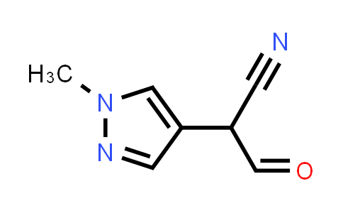 1039364-93-6 | 2-(1-Methyl-1H-pyrazol-4-yl)-3-oxopropanenitrile