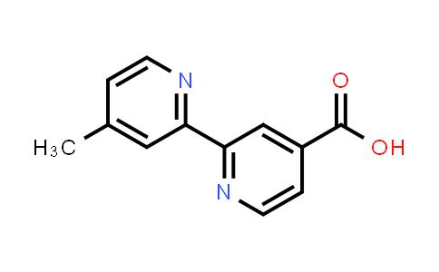 103946-54-9 | 4'-Methyl-[2,2'-bipyridine]-4-carboxylic acid