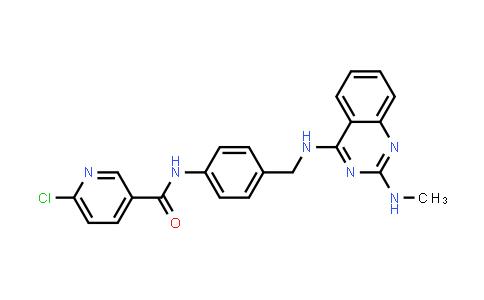 1039731-99-1   3-Pyridinecarboxamide, 6-chloro-N-[4-[[[2-(methylamino)-4-quinazolinyl]amino]methyl]phenyl]-