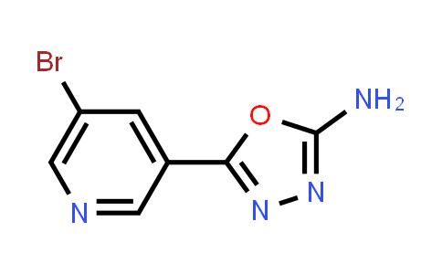 1039851-68-7   5-(5-Bromopyridin-3-yl)-1,3,4-oxadiazol-2-amine