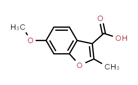103986-33-0 | 6-Methoxy-2-methylbenzofuran-3-carboxylic acid