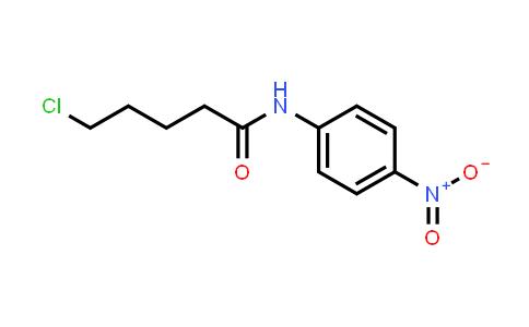 1039914-85-6 | 5-Chloro-N-(4-nitrophenyl)pentanamide