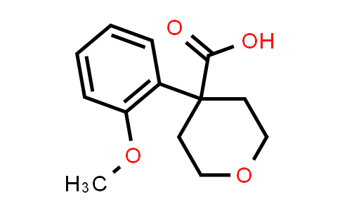1039931-72-0 | 4-(2-Methoxyphenyl)tetrahydro-2H-pyran-4-carboxylic acid
