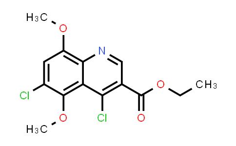 1040012-36-9 | Ethyl 4,6-dichloro-5,8-dimethoxyquinoline-3-carboxylate
