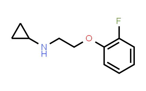 1040020-94-7 | N-(2-(2-fluorophenoxy)ethyl)cyclopropanamine