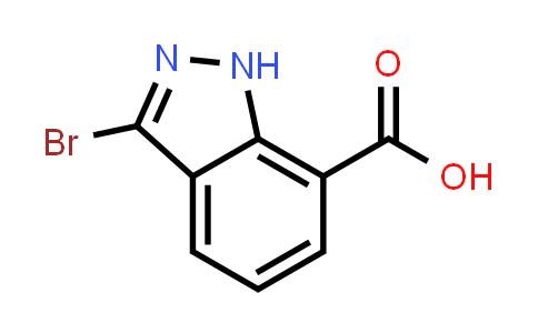1040101-01-6   3-Bromo-1H-indazole-7-carboxylic acid