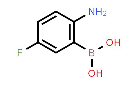 1040400-87-0 | (2-Amino-5-fluorophenyl)boronic acid