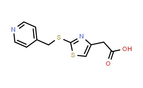 1040631-48-8 | {2-[(Pyridin-4-ylmethyl)thio]-1,3-thiazol-4-yl}acetic acid