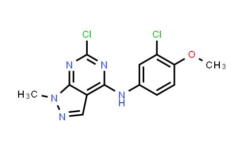 1040662-49-4 | 6-Chloro-N-(3-chloro-4-methoxyphenyl)-1-methyl-1H-pyrazolo[3,4-d]pyrimidin-4-amine