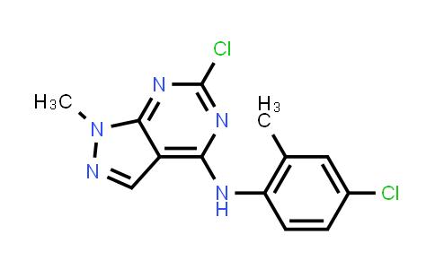 1040662-56-3 | 6-Chloro-N-(4-chloro-2-methylphenyl)-1-methyl-1H-pyrazolo[3,4-d]pyrimidin-4-amine