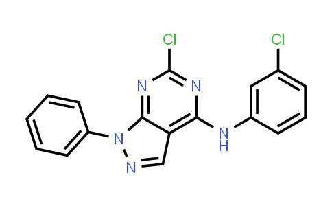 1040662-85-8   6-Chloro-N-(3-chlorophenyl)-1-phenyl-1H-pyrazolo[3,4-d]pyrimidin-4-amine