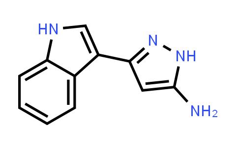 1040724-73-9   3-(1H-Indol-3-yl)-1H-pyrazol-5-amine